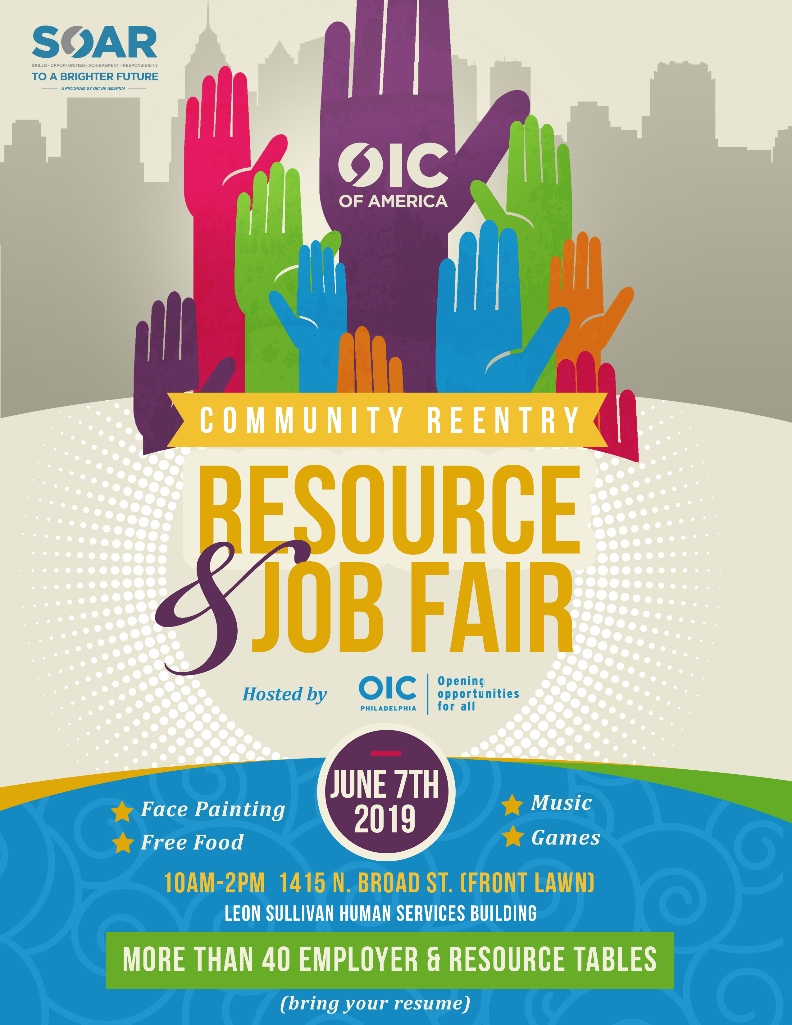 OICA Community Reentry Resource & Job Fair