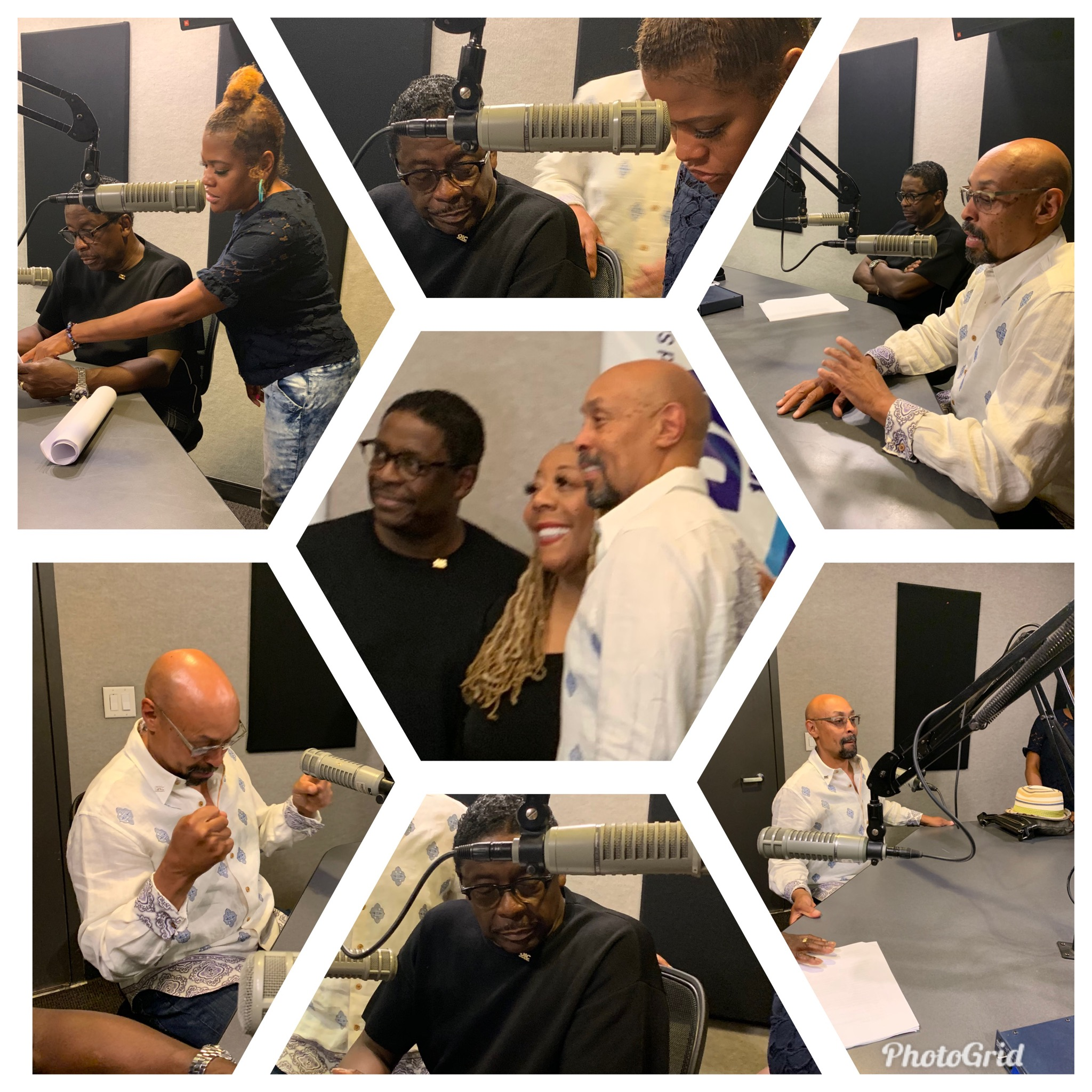 OICA and Celebrity Ambassador, Gerald Alston, and OICA President, James Haynes, interview with Patty Jackson of WDAS FM