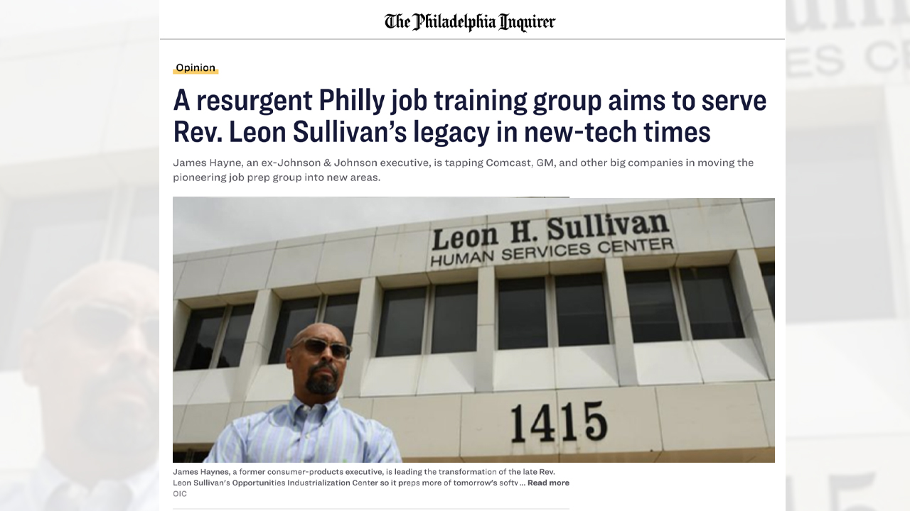 Philadelphia Inquirer Highlights OICA